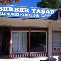 Photo taken at Berber Yaşar by Emre Y. on 12/21/2013