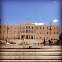 Photo taken at Syntagma Square by Thanos P. on 7/23/2013