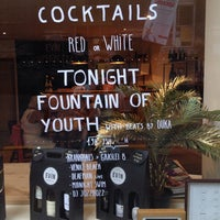 Photo taken at Evín Wine store & bar by Max V. on 7/23/2014