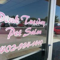 Photo taken at Pink Tuesday Pet Salon by Nick O. on 7/1/2013