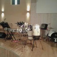 Photo taken at Ogres Trīsvienības Baptistu Draudze by Oscar A. on 3/20/2015