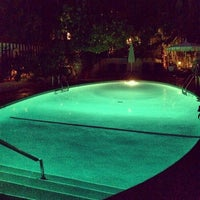 Photo taken at Chateau Marmont Pool by Can S. on 2/9/2014