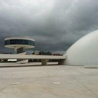 Photo taken at Oscar Niemeyer International Cultural Centre by Santi G. on 6/19/2013