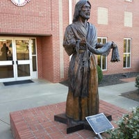Photo taken at Jesus Statue by David S. on 3/4/2013