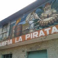 Photo taken at Pulqueria La Pirata by Fernanda P. on 9/25/2016