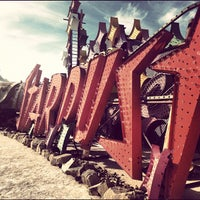 Photo taken at The Neon Museum by Jared Z. on 11/27/2012