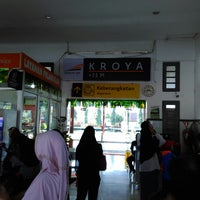 Photo taken at Stasiun Kroya by Dias P. on 6/27/2017