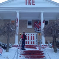 Photo taken at Tau Kappa Epsilon House (ΤΚΕ) by Rick A. on 1/9/2014