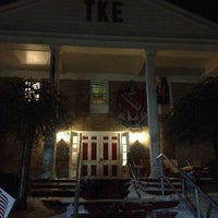 Photo taken at Tau Kappa Epsilon House (ΤΚΕ) by Rick A. on 1/5/2014