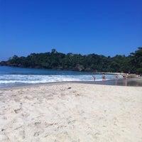 Photo taken at Praia do Félix by Fabio S. on 5/4/2013