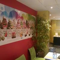 Photo taken at Yoyo's Yogurt Cafe by Mazamil A. on 9/1/2014