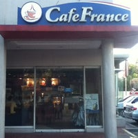 Photo taken at CafeFrance by Khymmy C. on 12/1/2012