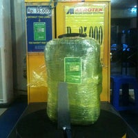 Photo taken at Aerotek ( Sultan Thaha AirPort DJB ) by Jeffry N. on 4/13/2013