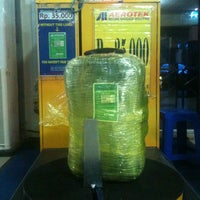 Photo taken at Aerotek ( Sultan Thaha AirPort DJB ) by Jeffry N. on 4/2/2013