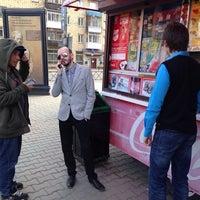 Photo taken at Хот-доги (Главпочтамт) by Viktor I. on 5/9/2014