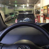 Photo taken at Toyota by Leito M. on 9/29/2012