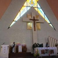 Photo taken at Parroquia de Nuestra Señora Aparecida del Brasil by Leito M. on 8/19/2013