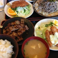 Photo taken at Gombei Japanese Restaurant by Dayse B. on 5/10/2013