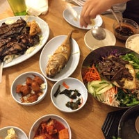 Photo taken at Cham Cham Korean BBQ by Ying F. on 11/26/2014
