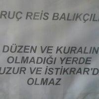 Photo taken at Oruç reis balıkçılık by Efe A. on 2/9/2014