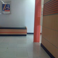 Photo taken at Bank BRI by Cicilya K. on 1/6/2014
