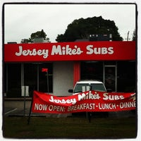 Photo taken at Jersey Mike's Subs by Nat F. on 3/12/2013