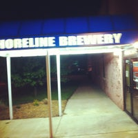 Photo taken at Shoreline Brewery by Nat F. on 5/22/2013