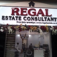 Photo taken at REGAL ESTATE CONSULTANTS by Ajay P. on 2/10/2014