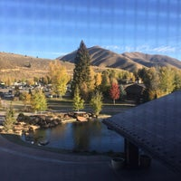 Photo taken at Sun Valley Lodge by David G. on 10/16/2017