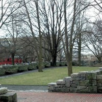 Photo taken at Salem Witch Trials Memorial by Tony H. on 1/12/2013