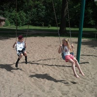 Photo taken at Elmwood Park Playground by Tony H. on 6/7/2013