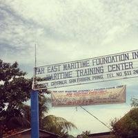 Photo taken at Far East Maritime Training Center by Jerome P. on 7/8/2013