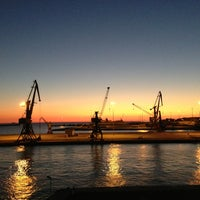 Photo taken at Port of Heraklion by Giannis A. on 9/6/2013
