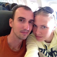 Photo taken at The Boening Aircraft 767-300 by Олег Ф. on 6/2/2014