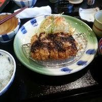Photo taken at かつ雅 小幡店 by Kenshi K. on 4/14/2013