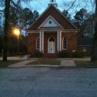 Photo taken at Mt Vernon Baptist Church by Katie B. on 4/1/2013
