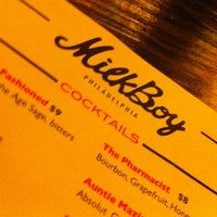 Photo taken at MilkBoy Philadelphia by james z. on 1/17/2013