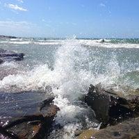Photo taken at Bassamarea Beach & Sail by Sergey P. on 7/29/2013