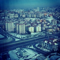 Photo taken at Halkalı Caddesi by ERHAN C. on 2/22/2015