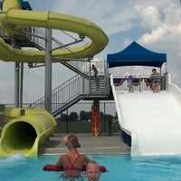 Photo taken at Falls City Aquatic Center by Tim F. on 7/4/2013