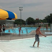 Photo taken at Falls City Aquatic Center by Tim F. on 7/3/2013