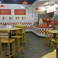 Photo taken at Five Guys by Vicky G. on 10/20/2016