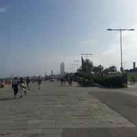 Photo taken at Ronda Litoral (Zona Poble Nou) by Sergey B. on 6/7/2014