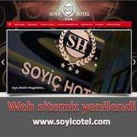 Das Foto wurde bei Soyic Hotel von m.zafer a. am 2/21/2013 aufgenommen