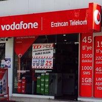 Photo taken at Vodafone Erzincan Telekomünikasyon by Yunus Emre A. on 2/20/2014