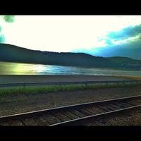 Photo taken at Metro North - Peekskill Train Station by Heather C. on 7/23/2013