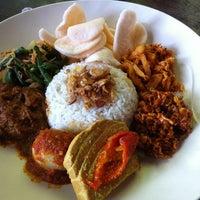 Photo taken at Café Batu Jimbar by Nathalie S. on 2/6/2013