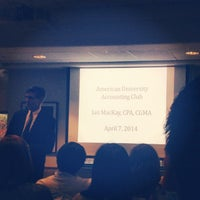 Photo taken at AU –Kogod School of Business by Ty L. on 4/7/2014