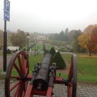 Photo taken at Linnaeus garden by Hiba A. on 10/9/2014