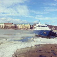 Photo taken at Ravintola Uunisaari by Kirill K. on 3/8/2014